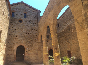 Badia Petroia and its 11th-century Benedictine Abbey dedicated to St. Mary and St. Giles.